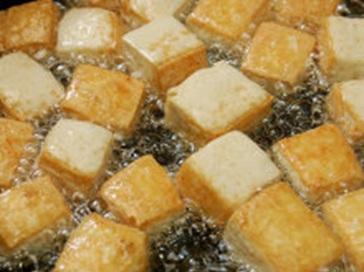 Tofu dorado