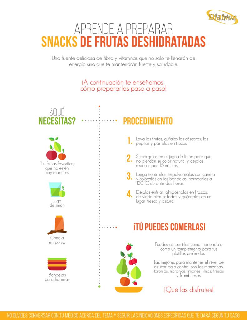 DIABION - Infografia Snacks